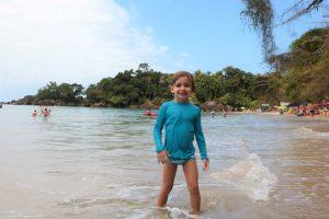 Cauê na praia do Félix, Ubatuba