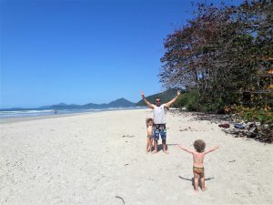 Visual da praia de Itamambuca, Ubatuba