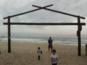 Entrada da Praia de Maresias