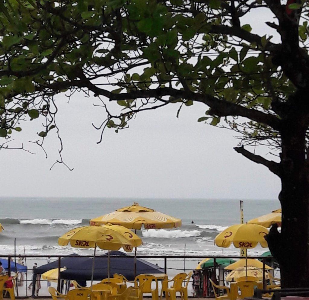 Praia Grande, Ubatuba, vista do calçadão