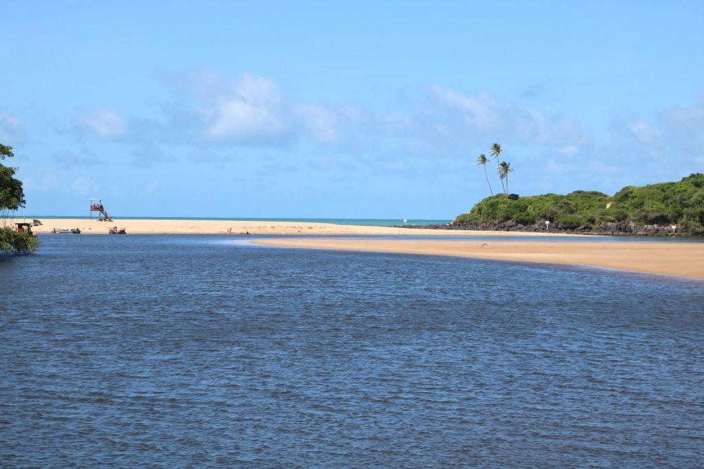 Boca da Barra, rio Camaratuba, baía da traição - PB