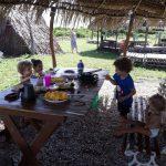 Café da manhã, ibaté camping, baía da traição - PB