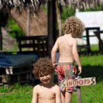 Nossos índios cabelos de sol
