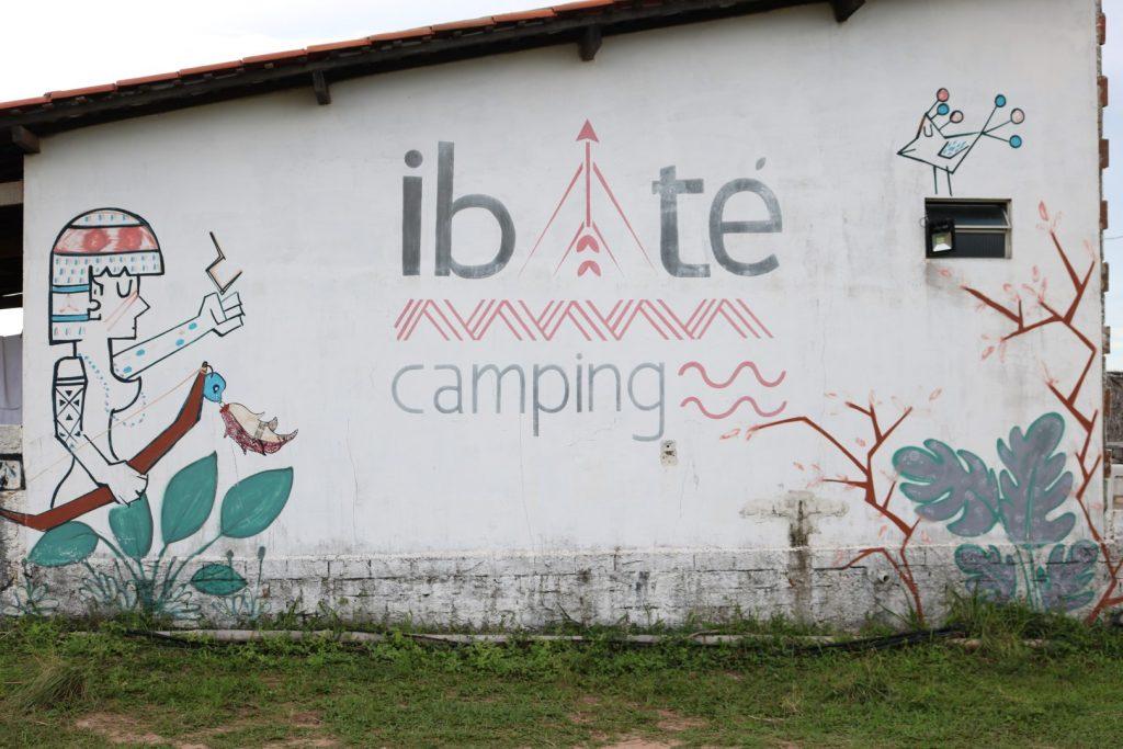 Entrada do Ibaté Camping, Baía da Traição - PB