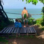 Mirante do Ibaté Camping, baía da traição - PB