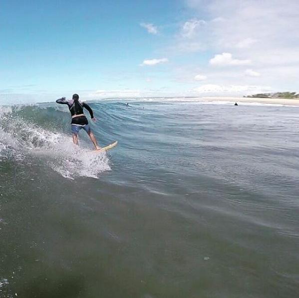 Surf em Barra do Cunhaú - RN