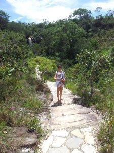 Entrada para Cachoeira do Abade