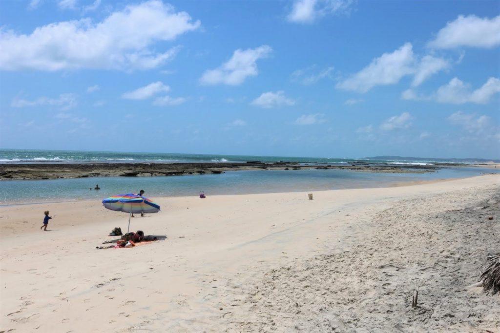 piscinas naturais Barra do Cunhaú - RN
