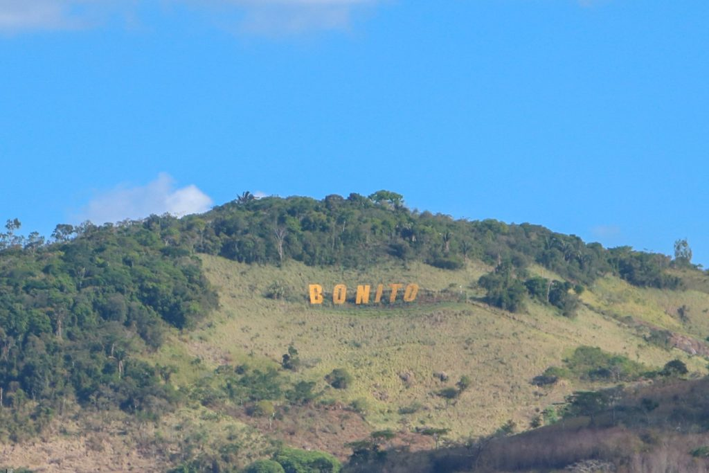 Letreiro na montanha, Bonito - PE